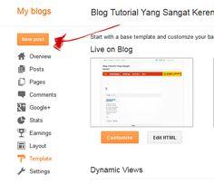 cara membuat toko online di blogger klik add post image