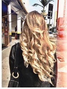 Long Blond Curls