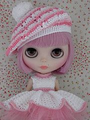 Pretty in Pink #blythe One of my fav dolls growing up :-)