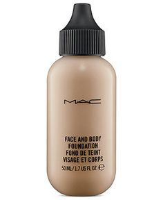 MAC Face and Body Foundation - Makeup - Beauty - Macy's