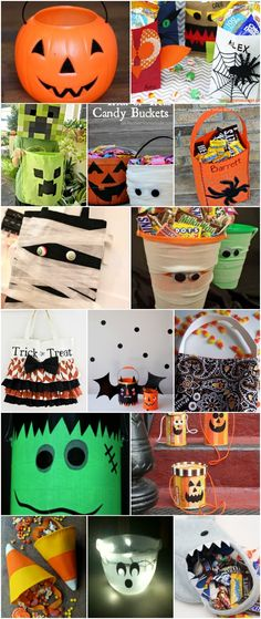 30 Easy And Cheap DIY Trick-Or-Treat Bags That Make Halloween Fun And Frugal via @vanessacrafting