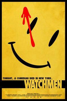Watchmen poster by amorphousobject on DeviantArt Manhattan Wallpaper, Beloved Movie, Doomsday Clock, Minimalist Poster, Comedians, Tv, Comic Books, Deviantart, Let It Be