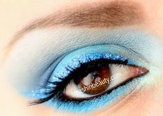 Inspired by the Ocean http://smashinbeauty.com/ocean-inspired-blue-makeup/