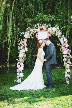 Heirloom Romance Wedding Arch