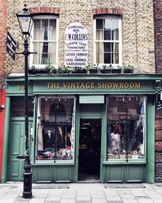 The Vintage Showroom in Seven Dials, London