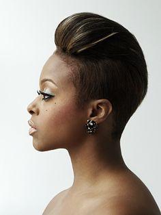 Chrisette Michele Rocking It Fiercely! Short Sassy Hair, Short Hair Cuts, Short Hair Styles, Love Hair, Great Hair, Chrisette Michele, Afro, Hair Shows, Relaxed Hair
