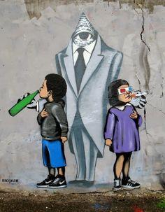 Ukrainian Banksy: Awesome Street Art From Sharik