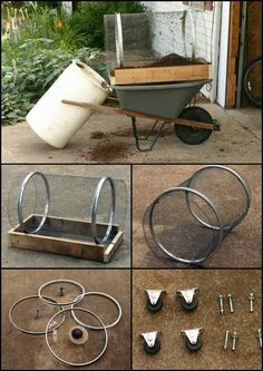 How To Build A Compost Sifter From Repurposed Materials http://theownerbuildernetwork.co/5cr1 The average gardener or DIYer doesn't need a full size motorized sifter. This is a great alternative as it is smaller, easy to build, and affordable. Do you need one of these for your garden?