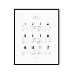 Kalendarz 2016 - plakat
