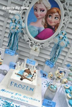 Awesome Frozen Birthday Party!  See more party ideas at CatchMyParty.com!