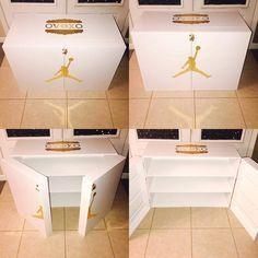 Shoe box storage Jordan OVO Schuhschrank - Riesige Schuhkartons How To Buy A Loft Bed (
