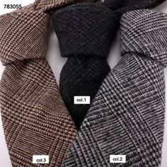 good quality Cross stripes wool ties 783055 Wool Tie, Neckties, Handsome, Men Casual, Stripes, Fabric, Collection, Fashion, Tejido