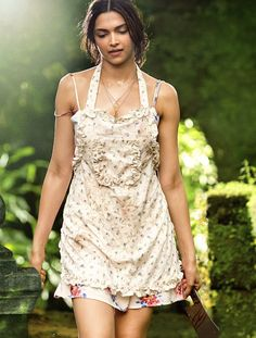 Deepika Padukone's first look from the upcoming movie, #FindingFanny.