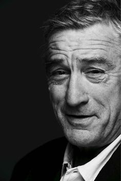 Robert DeNiro - a fantastic screen presence and one of my all-time favourite actors. He work with Scorsese (Taxi Driver, Ranging Bull and Goodfellas in particular) were stand-out pieces of work