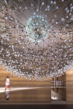 LUCENT Ceiling Lighting by Wolfgang Buttress