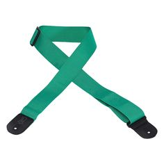 "Levy's 2"" Basic Poly Guitar Strap with Tri-Glide Adjustment - Green"