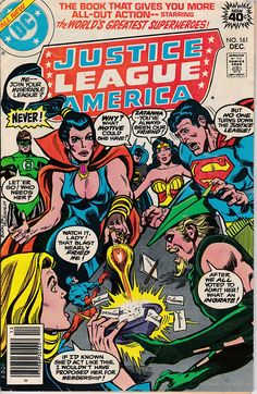 Justice League of America 161 1960 1st Series December