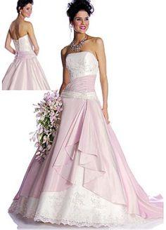 Elegant Lovely Exquisite Design Taffeta Ball Gown Wedding Dress / Prom Dress STYLE NO.WWD000GZ - $139