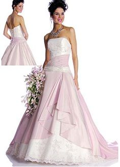Elegant Lovely Exquisite Design Taffeta Ball Gown Wedding Dress / Prom Dress STYLE NO.WWD000GZ - $139