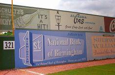 Old Time Baseball - Rickwood Field, Birmingham, Alabama