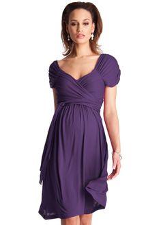 Seraphine - Amethyst Wrap Dress