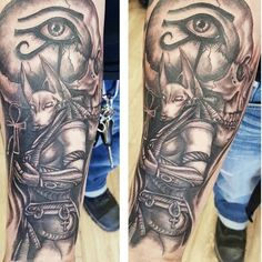 anubis tattoo60