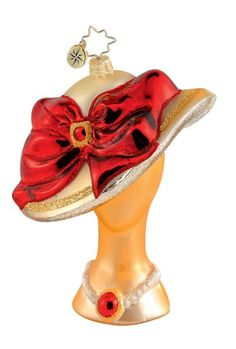 Image detail for -Christopher Radko Christmas Ornament - Hats Off!