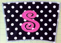 Here is a quick tutorial on how to make an appliqué with your embroidery machine. It is a great skill to have. As you see here you can ...