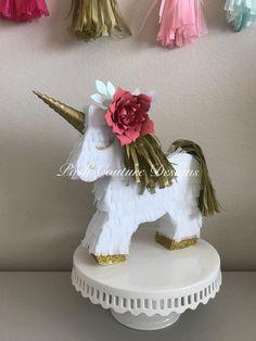 Your place to buy and sell all things handmade Unicorn Pinata, Unicorn Gifts, Unicorn Party, Baby Shower Unicornio, Unicorn Centerpiece, Unicorn Photos, Unicorn Baby Shower, Photo Props, First Birthdays
