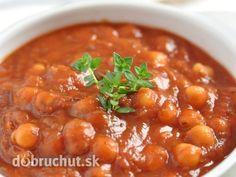 Rajčiaková polievka s fazuľou