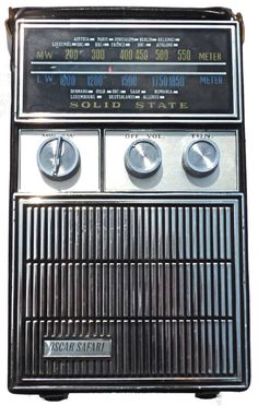 Oscar 'Safari' transistor radio