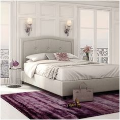 amisco bridge bed 12371 furniture bedroom urban. crocus upholstered bed by amisco in sleet gray custom platform collectic home bridge 12371 furniture bedroom urban
