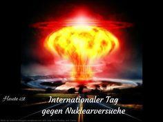 Heute ist Internationaler Tag gegen Nuklearversuche #Heute #Tag #Welttag #Today #Day #SpecialDay #Worldday