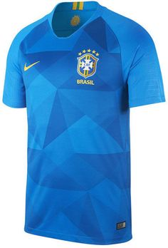 Nike Men s Brazil National Team Away Stadium Jersey Sports Fan Shop 6a84beb8ee2ac