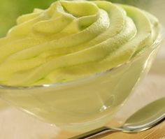 Frozen Lemon Avocado Pudding #HealthyRecipes #LYFEKitchen #Frozen #Lemon #Avocado #Pudding #EATGood #FEELGood