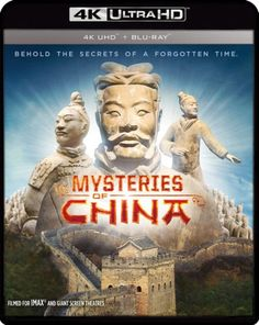 Mysteries of Ancient China UHD Ultra HD Blu-ray Archeologists discover a pit filled with terracotta warriors buried to protect the grave of the First Emperor of China. Hd Movies, Movies And Tv Shows, Movie Tv, Avery Brooks, 4k Uhd, Ancient China, Time Capsule, Documentary Film, Super Powers