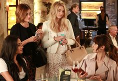 Pin for Later: The Ladies of Pretty Little Liars Are All Grown Up — and Looking More Stylish Than Ever  These four have nailed the meeting-your-girls-for-drinks look. So sophisticated.