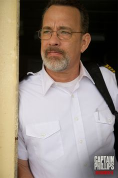 Captain Phillips movie starring Tom Hanks who should be nominated for a Oscar for his role. He was very con- vincible and believable as Captain Phillips.