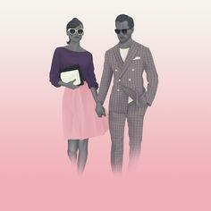 Pink & Purple // Holland & Sherry.Jack Hughes