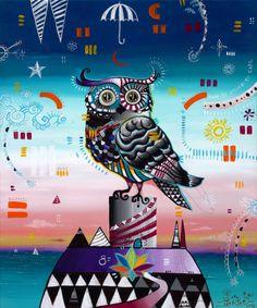 """""""The Owl"""" (Il Gufo) by Giorgio Casu"""