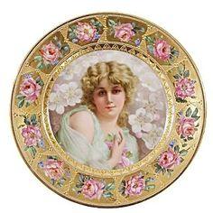 Beautiful german Portrait Plate
