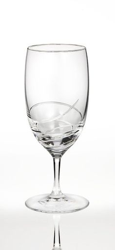 Waterford Lismore Essence Platinum Red Wine Goblet. A delicately refined design with a gracefully understated, traditional sensibility, the Lismore Essence Platinum collection by Waterford Crystal will give your table setting a touch of classic sophistication. An elegant reinterpretation of Waterford's classic Lismore pattern, arguably the most well known and popular stemware collection of the past 50 years, Waterford Lismore Essence Platinum glasses and stemware have a delicate beauty…