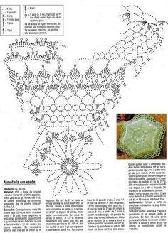 Pasatiempos entre hilos y puntadas: Patrones de almohadones crochey y dos agujas