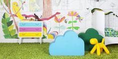 Carta da parati murales per bambini online - Consegna gratuita | Mr Perswall
