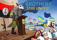 Ukraine - fascist wolves in nationalist sheep's clothing.