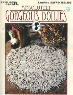 Patricia Kristoffersen. Absolutely Gorgeous Doilies (Leisure Arts #2879)