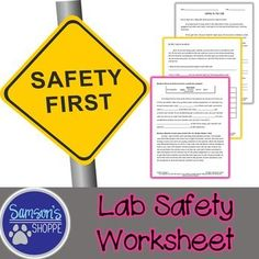 This resource is a 3 page worksheet that will introduce or review laboratory safety rules and procedures with your students. Students will also learn about important lab safety equipment. There are questions and charts to fill in to assess comprehension.