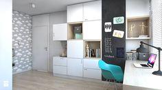 DOM JEDNORODZINNY D12/2015 TARNOWSKIE GÓRY - Pokój dziecka, styl nowoczesny - zdjęcie od A2 STUDIO pracownia architektury