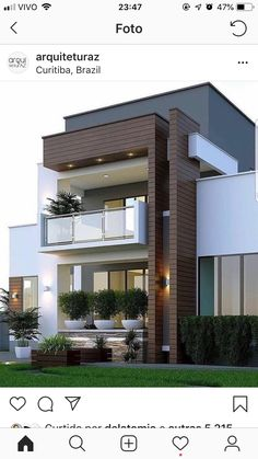 Pictures Of Modern House Designs. 20 Pictures Of Modern House Designs. 49 Most Popular Modern Dream House Exterior Design Ideas 3 Minimalist House Design, Modern Minimalist, Modern Small House Design, Modern Design, Small Modern Houses, Tiny Houses, Minimalist Interior, House Front Design, Bungalow House Design