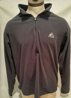 Nike ACG Men's 1/4 Zip Fleece Pullover Jacket gray Size 2XL Long Sleeves NikeFit   Clothing, Shoes & Accessories, Men's Clothing, Coats & Jackets   eBay!